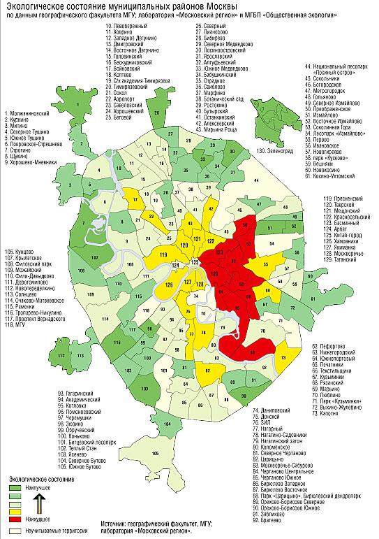 Одним из слабых мест юао является его сложная экологическая обстановка